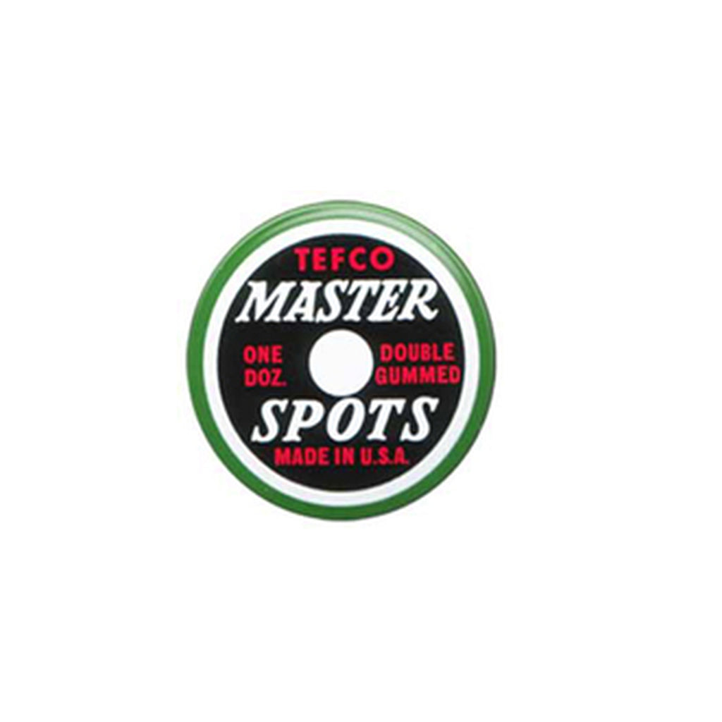 Tefco Pool Table Master Spots - Tin of 12