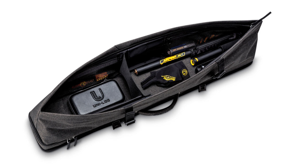 Predator Pool Cue Case - 2 Butt/4 Shaft - Urbain Grey Hard
