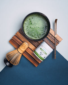 Dark Sea Green Traditional Matcha Kit