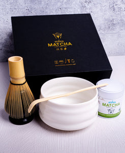 Black Traditional Matcha Kit