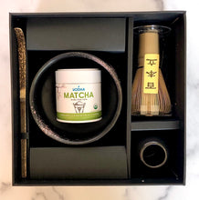 Load image into Gallery viewer, Black Traditional Matcha Kit