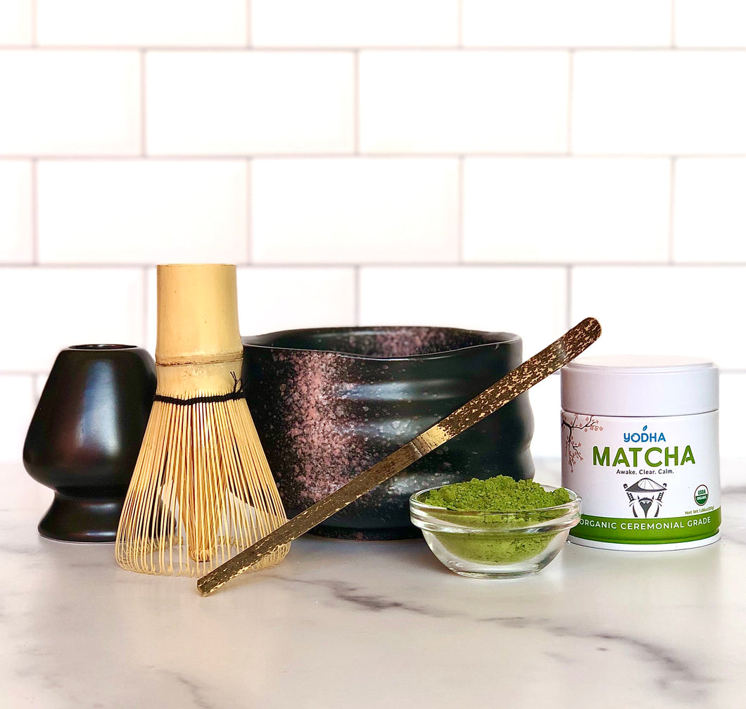 Tan Traditional Matcha Kit