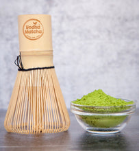 Load image into Gallery viewer, Tan Matcha Bamboo Whisk