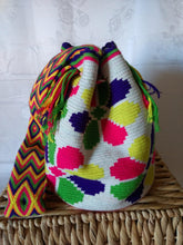 Load image into Gallery viewer, Authentic Bags Mochilas Wayuu - Carnaval Ocho