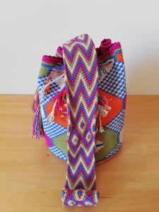 Authentic Handmade Mochilas Wayuu Bags- Carnaval de Color