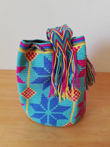 Authentic Handmade Mochilas Wayuu Bags- Carnaval de Color Tres