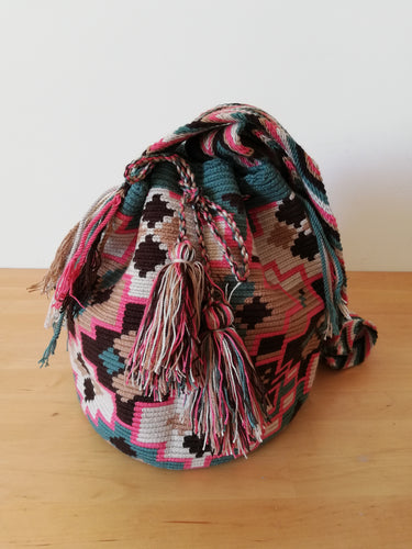 Authentic Handmade Mochilas Wayuu Bags - Montserrate 5