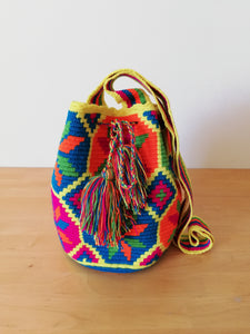 Authentic Handmade Mochilas Wayuu Bags - Medium