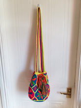 Load image into Gallery viewer, Authentic Handmade Mochilas Wayuu Bags - Medium