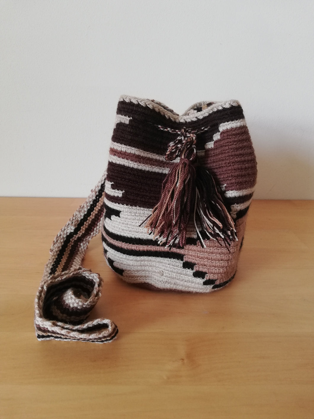 Authentic Handmade Mochilas Wayuu Bags - Small 9
