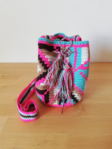 Authentic Handmade Mochilas Wayuu Bags - Small 12