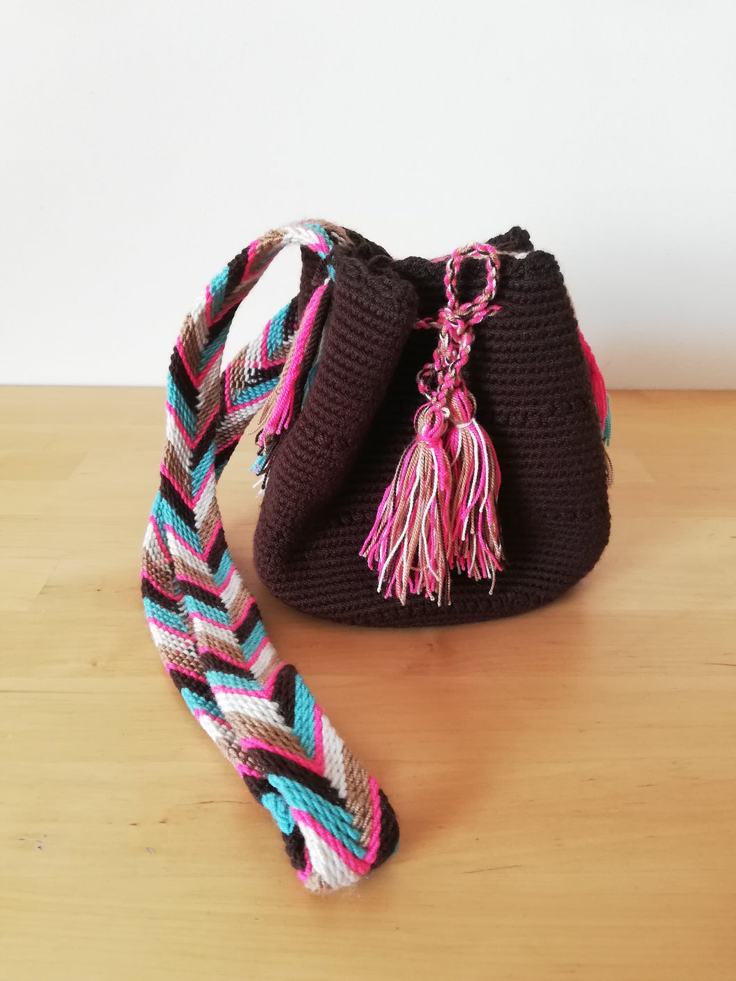 Authentic Handmade Mochilas Wayuu Bags - Small 16