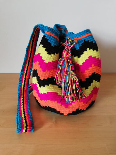 Authentic Handmade Mochilas Wayuu Bags - Mediana 19