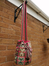 Load image into Gallery viewer, Authentic Handmade Mochilas Wayuu Bags - Mediana Cinco