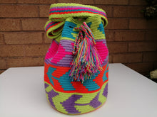 Load image into Gallery viewer, Authentic Handmade Mochilas Wayuu Bags - Mediana Dos