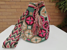 Load image into Gallery viewer, Authentic Handmade Mochilas Wayuu Bags - Montserrate 1