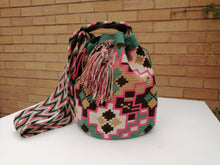 Load image into Gallery viewer, Authentic Handmade Mochilas Wayuu Bags - Montserrate 5