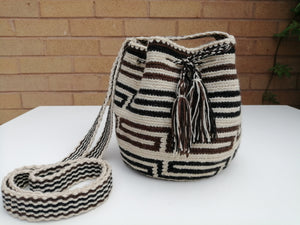 Authentic Handmade Mochilas Wayuu Bags - Small Lines 5