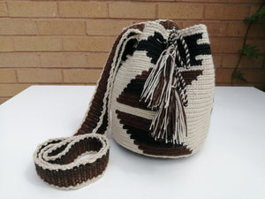 Authentic Handmade Mochilas Wayuu Bags - Small Chia