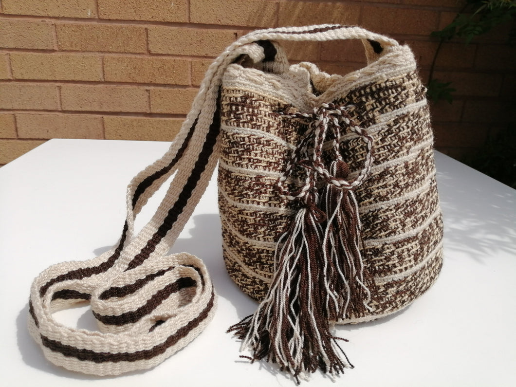 Authentic Handmade Mochilas Wayuu Bags - Small Cajica