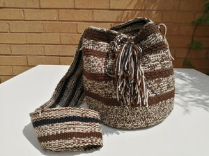 Authentic Handmade Mochilas Wayuu Bags - Small Boyaca