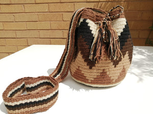 Authentic Handmade Mochilas Wayuu Bags - Small Cucuta