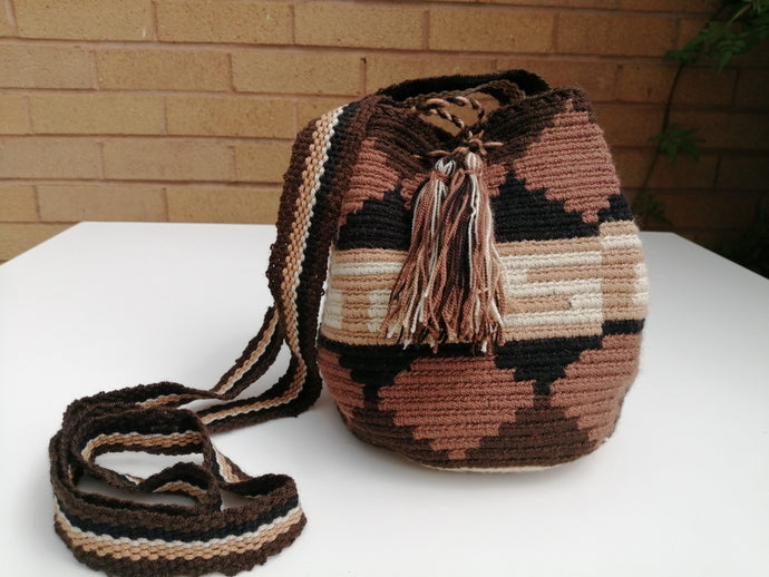 Authentic Handmade Mochilas Wayuu Bags - Small Medellin