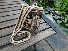 Load image into Gallery viewer, Authentic Handmade Mochilas Wayuu Bags - Small Zipaquira
