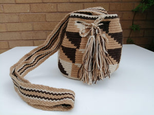 Authentic Handmade Mochilas Wayuu Bags - Small Pereira
