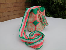 Load image into Gallery viewer, Authentic Handmade Mochilas Wayuu Bags - Small 13