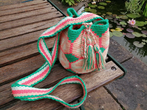 Authentic Handmade Mochilas Wayuu Bags - Small 13