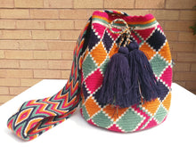 Load image into Gallery viewer, Cross-body Handmade Bags Mochilas Wayuu Collection Caribe - Palomino
