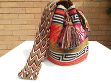 Load image into Gallery viewer, Cross-body Handmade Bags Mochilas Wayuu Collection Caribe - Tayrona