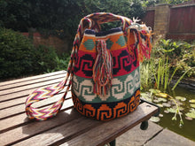 Load image into Gallery viewer, Cross-body Handmade Bags Mochilas Wayuu Collection Caribe - Guajira