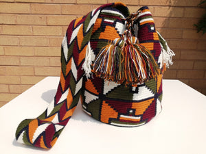 Handmade Cross-body Bags Mochilas Wayuu Collection Andes - Bogotá