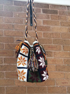 Handmade Cross-body Bags Mochilas Wayuu Collection Andes - Chía