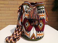 Load image into Gallery viewer, Handmade Cross-body Bags Mochilas Wayuu Collection Andes - Sopó