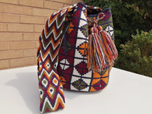 Load image into Gallery viewer, Handmade Cross-body Bags Mochilas Wayuu Collection Andes - Chiquinquirá