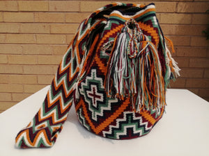 Handmade Cross-body Bags Mochilas Wayuu Collection Andes - Guadalupe