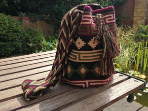 Handmade Cross-body Bags Mochilas Wayuu Collection Andes - Centro