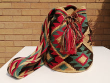 Load image into Gallery viewer, Handmade Cross-body Bags Mochilas Wayuu Collection Andes - Rosa