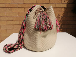 Original Handmade Bags Mochilas Wayuu  Collection Bahía - Blanca