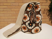 Load image into Gallery viewer, Handmade Cross-body Bags Mochilas Wayuu Collection Natural - Pereira