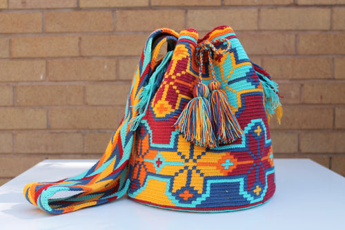 Original Handmade Bags Mochilas Wayuu  Collection Bonita III