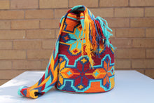 Load image into Gallery viewer, Original Handmade Bags Mochilas Wayuu  Collection Bonita III