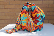 Load image into Gallery viewer, Original Handmade Bags Mochilas Wayuu  Collection Bonita IV