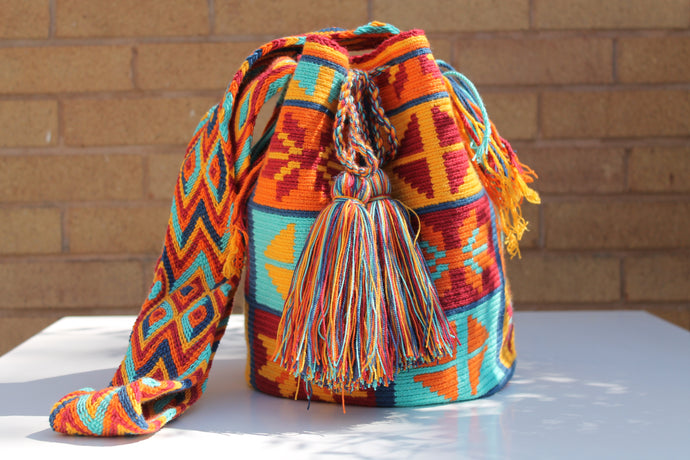 Original Handmade Bags Mochilas Wayuu  Collection Bonita VIII
