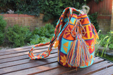 Load image into Gallery viewer, Original Handmade Bags Mochilas Wayuu  Collection Bonita VIII