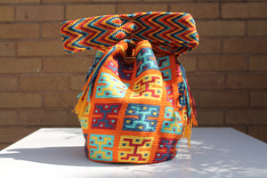 Original Handmade Bags Mochilas Wayuu  Collection Bonita VII