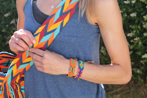 Authentic Handmade Wayuu Bracelets AZUL